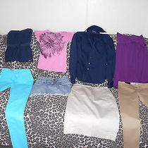 Lot of Clothing Womens American Eagleexpress Design Studio Sz 0 & S Photo