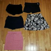 Lot of Express Abercrombie Victoria's Secret Summer Shorts Skirts Size Small Photo