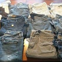 Lot of Express American Eagle Gap and Banana Rep. Womens Jeans Photo