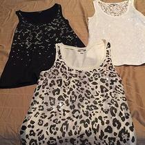Lot of Express Sequin Tank Tops Size Xs Photo