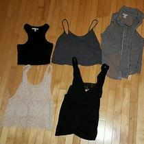 Lot of Express Summer Crop Backless Tops Size Small Photo