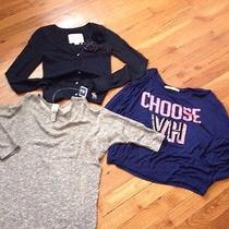 Lot of Girl Clothing Size 12 Large High End Brands Abercrombie Vintage Havana Photo