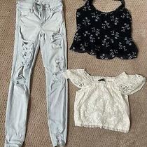 Lot of Girls Clothes Size 11/12 Abercrombie Kids and American Eagle Photo