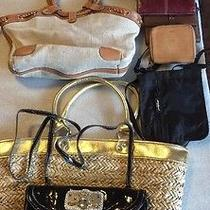 Lot of Handbags and Wallets Fossil Kathy Von Zeeland American Eagle More Photo