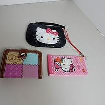 Lot of Hello Kitty Wristlets & Cell Holder Photo