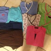 Lot of Medium Scrubs Photo