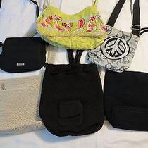 Lot of Medium Size Womens Handbags / Purses the Sak and Varies Others Photo