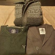 Lot of Name Brand Sweaters-Express-Claiborne-American Eagle Photo