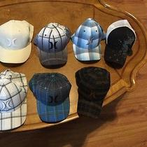 Lot of Rare Hurley Fitted Caps (Flex Fit Size L-Xl) Photo