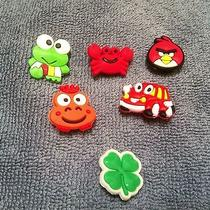 Lot of Shoe Charms for Jubbitz or Crocsangry Bird Fire Truck Frog Clover Photo