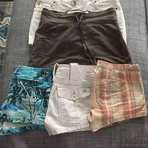 Lot of Six Preowned Junior Skirts/shorts (A&f American Eagle Express) Photo