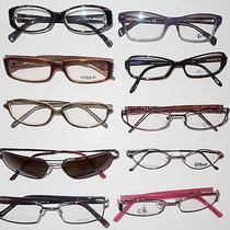Lot of Ten Plastic & Metal Eyeglass Frames Fendi Ray ban.calvinsvogueflexon Photo