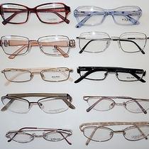 Lot of Ten Plastic & Metal Eyeglass Frames Fendivoguecoach Jaguar Calvins  Photo