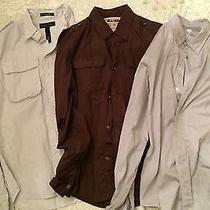 Lot of Three Mens Shirts Small / Medium Urban Outfitters/ American Apparel Photo