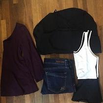 Lot of Women's Express Clothes 3 Tops 1 Jean Great Price Photo