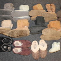 Lot Used Ugg Boots Authentic Uggs Womens 5 5 7 8 8 8 8 8 8 10 10 ..wholesale Xvm Photo