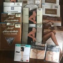 Lot Vintage Panty Hose Nip Hanes Evan Picone Givenchy Etc. Unused 14 Packs Photo
