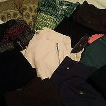 Lot Women's Sz 14/16 Tops Shirts Jeans Capri's Chico's Joe's Ralph Lauren  More Photo