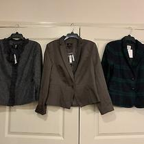 Lot Womens Blazers All Nwt Gap ny&co Etc. Sz 16 Retail 214 Photo