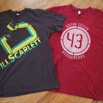 Lots American Apparel Guitar Center Ill Scarlett Vtg Mens Tshirt Shirt Top L Photo