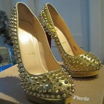 Louboutin Alti Pump Spikes 160 Size 38.5 Euro 7.5 Usa Photo