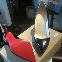 Louboutin Pigalle Plato Size 36 Euro Size Usa 5.5 Just Resoled Photo