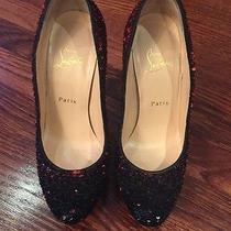 Louboutin  Sequin Shoe 37.5 Photo