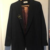 Louche Hudson Jacket Navy Size Uk8 Rrp 165 Photo