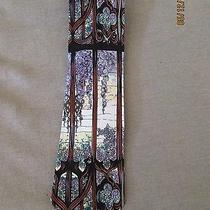 Louis Comfort Tiffany Hudson River Silk Necktie From Italy Photo
