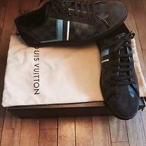 Louis Vuitton Authentic Gray Damier Low-Top Sneaker Size 10 Photo