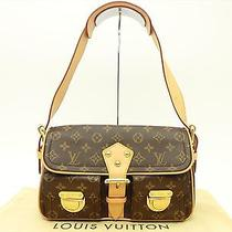Louis Vuitton Authentic Monogram Hudson Shoulder Bag Auth Lv M40027 Photo