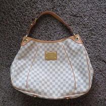 Louis Vuitton Azur Galleria Gm Hobo Purse Handbag  Photo