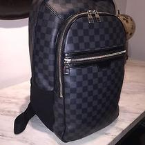 Louis Vuitton Backpack in Damier Graphite Photo