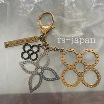 Louis Vuitton Bag Charm Key Chain Key Ring W/o Box Women's Accessories Authentic Photo