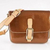 Louis Vuitton Bag Copper / Bronze Monogram Vernis Christie Shoulder Handbag   Photo