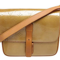 Louis Vuitton Beige Vernis Christie Gm Messenger Handbag Photo