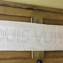 Louis Vuitton Blush 100% Cashmere Blush Scarf Photo