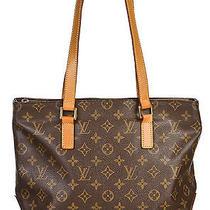 Louis Vuitton Brown Monogram  Cabas Piano Shoulder Handbag Photo