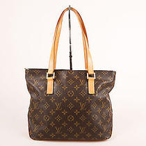 Louis Vuitton Brown Monogram Coated Canvas & Leather