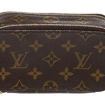 Louis Vuitton Brown Monogram Trousse Blush Pm Cosmetic Pouch Photo