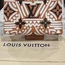 Louis Vuitton Crafty Toiletry Pouch 26 Monogram Black Brown Pochette Clutch Bag Photo