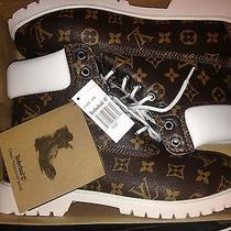 Louis Vuitton Custome Timberlands Photo
