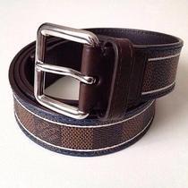 Louis Vuitton Damier Ace Belt Limited Edition Photo