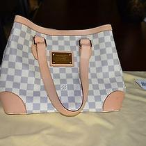 Louis Vuitton Damier Azur Hampstead Handbag
