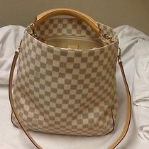 Louis Vuitton Damier Azur Soffi With Original Receipt & Dust Bag Photo