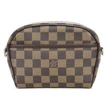 Louis Vuitton Damier Ebene Canvas Pochette Ipanema Handbag Photo