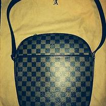 Louis Vuitton Damier Ebene Canvas Shoulder Bag Photo