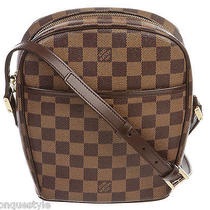 Louis Vuitton Damier Ebene Ipanema Pm Crossbody Handbag Photo