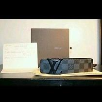 Louis Vuitton Damier Graphite (Black) Belt 95cm Photo
