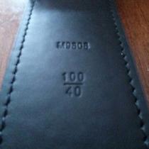Louis Vuitton Damier Graphite Lv Initials Men's Belt (100cm) (105cm) Photo